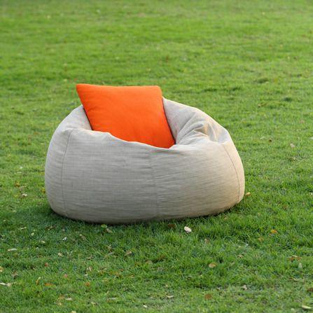 Кресло пуф на природе